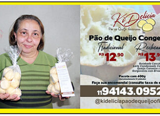 Você precisa se deliciar com os pães de queijo artesanais, doces ou salgados, da Ki Delicia