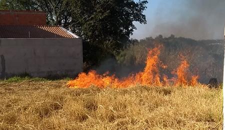 Read more about the article Literalmente tacaram fogo em Salto nesta terça-feira