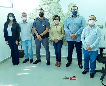 Read more about the article Coronel da PM, Helena Reis, visita corporação em Salto