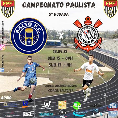 Amanhã é dia de jogo contra o Corinthians, no Amadeu Mosca