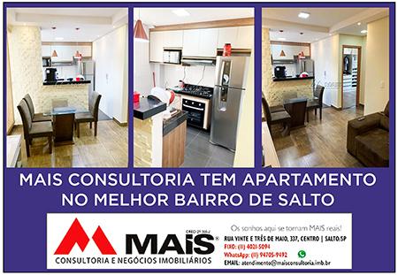 Read more about the article Mais Consultoria tem apartamento em um dos bairros mais completos de Salto