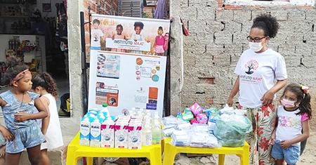 Read more about the article É óbvio que você pode ajudar o Instituto Maat a combater a pobreza menstrual em Salto