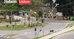 Imagens de um trânsito cada vez mais complicado em Salto