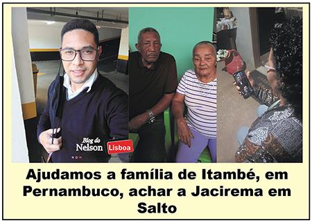 Read more about the article Ajudamos a Família Felisberto, de Salto, São Bernardo e Itambé, a se reencontrar